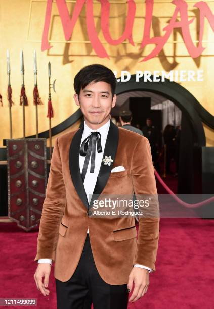 Jimmy Wong attends the World Premiere of Disney's 'MULAN' at the Dolby Theatre on March 09 2020 in Hollywood California