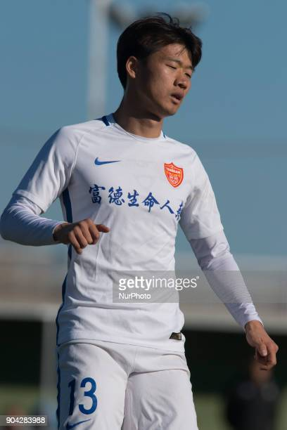 Jin Bo during the friendly match between Royal Charleroi SC vsYanbian Funde FC at Pinatar Arena Murcia SPAIN 10th January of 2018
