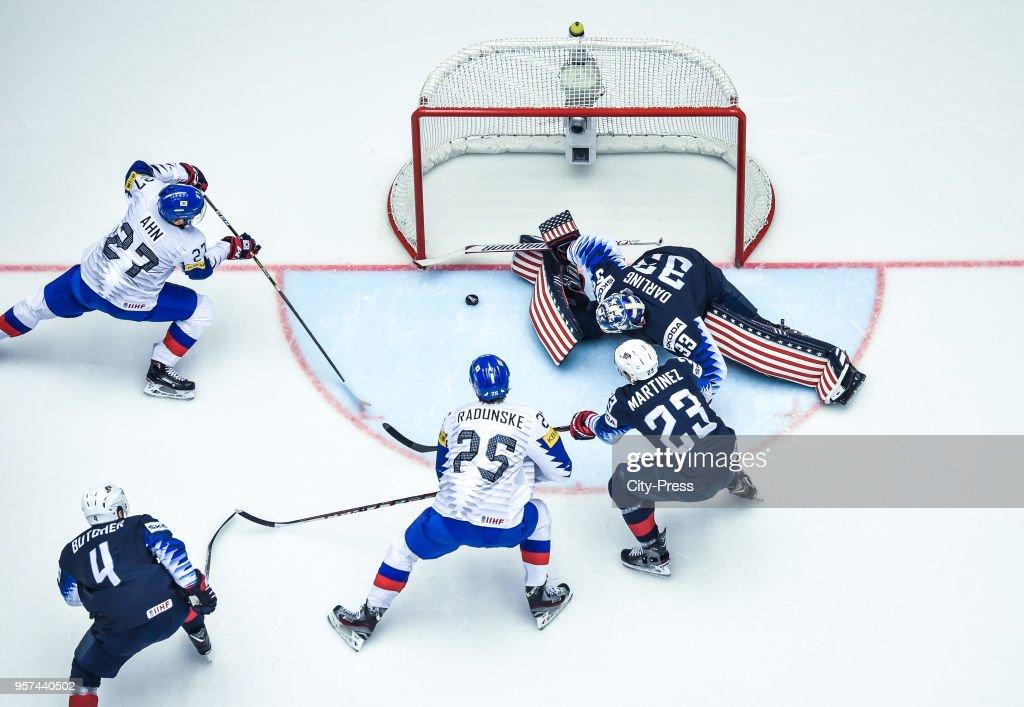 USA v Korea - IIHF World Championship 2018