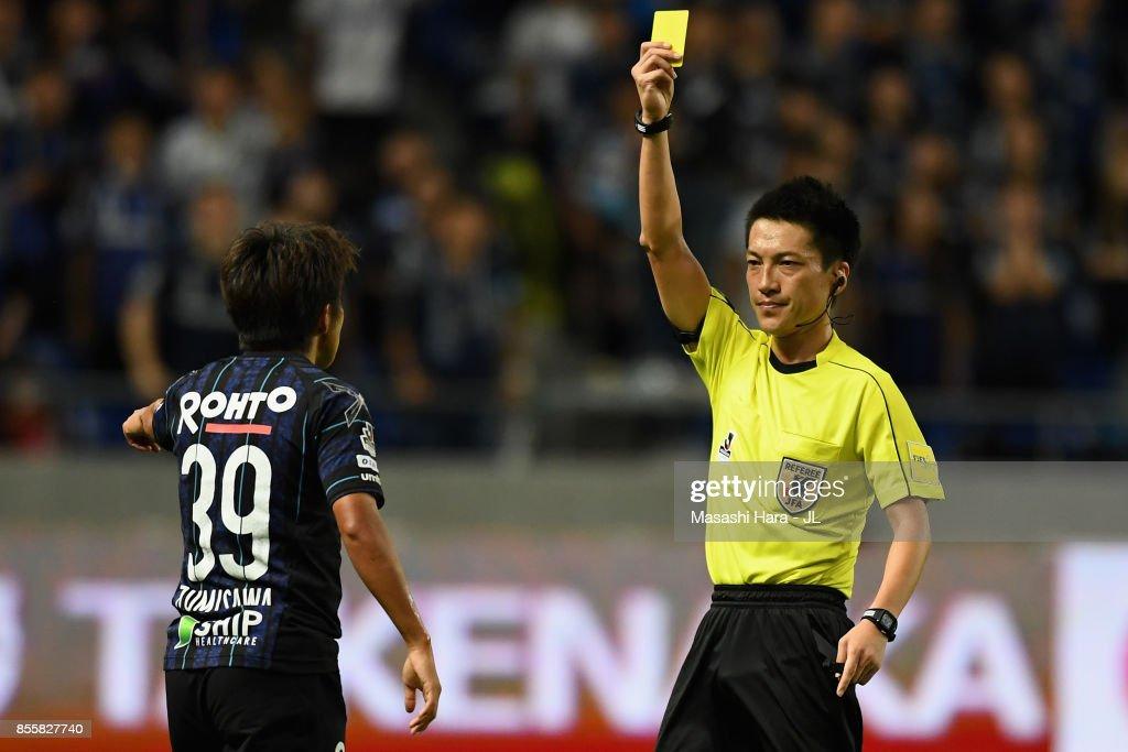 Gamba Osaka v Yokohama F.Marinos - J.League J1 : ニュース写真
