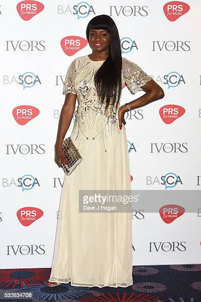 Jin Jin arrives for the Ivor Novello Awards at Grosvenor House on May 19 2016 in London England