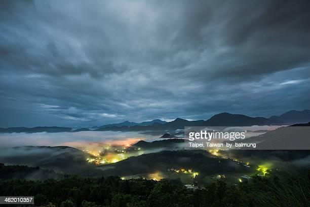 'Jin Long Shan' night light