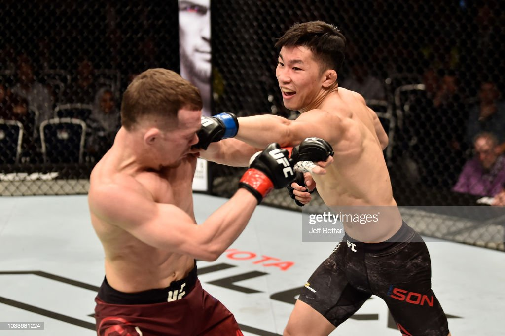 UFC Fight Night Moscow: Yan v Son : News Photo