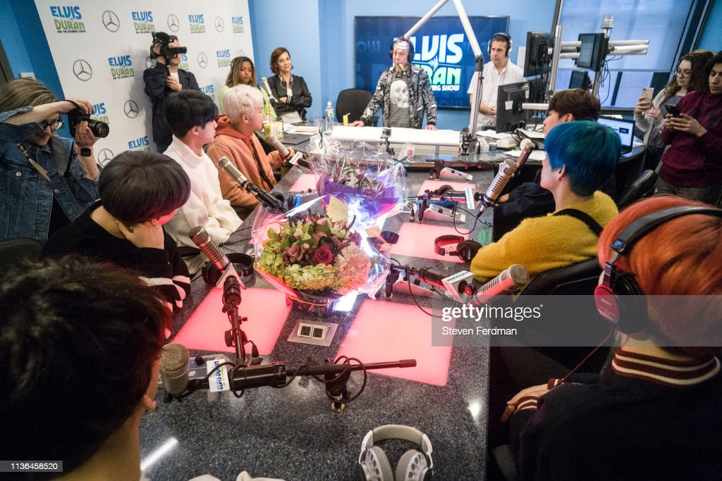 "BTS Visits ""The Elvis Duran Z100 Morning Show"" : News Photo"