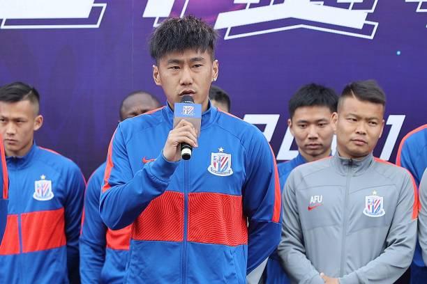 CHN: Shanghai Shenhua F.C. Pre-season Mobilization