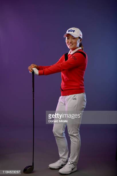 Jin Young Ko of Korea poses for a portrait at the Park Hyatt Aviara Resort on March 26 2019 in Carlsbad California
