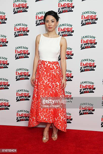 Jing Lusi attends the Jameson Empire Awards 2016 at The Grosvenor House Hotel on March 20, 2016 in London, England.
