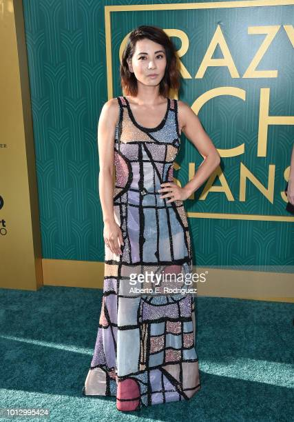 """Jing Lusi attends the premiere of Warner Bros. Pictures' """"Crazy Rich Asiaans"""" at TCL Chinese Theatre IMAX on August 7, 2018 in Hollywood, California."""