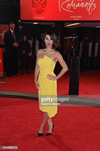 Jing Lusi attends the World Premiere of Amazon Prime Video's 'The Romanoffs' at The Curzon Mayfair on October 2 2018 in London England
