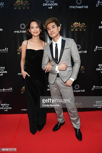 Jingjing Qu and Philip Ng attend Birth Of A Dragon TIFF premiere and afterparty on September 13 2016 in Toronto Canada