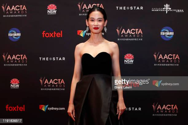 JingJing Qu attends the 2019 AACTA Awards Presented by Foxtel at The Star on December 04 2019 in Sydney Australia