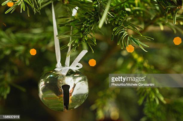 Jingle bell Christmas ornament