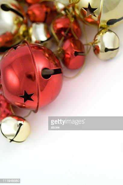 jingle bells - bell stock pictures, royalty-free photos & images