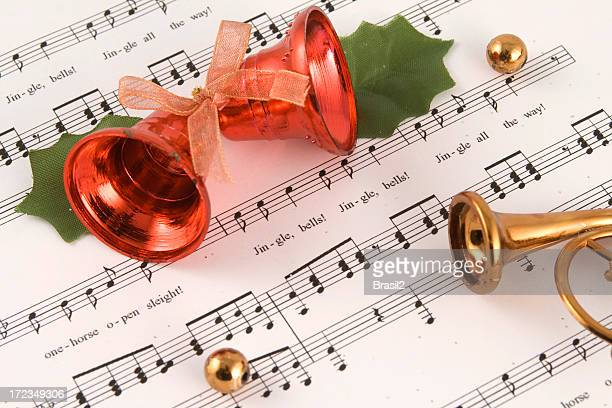 jingle bells ! - bell stock pictures, royalty-free photos & images