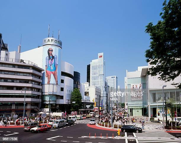 Jingumae Crossing, Shibuya, Tokyo, Japan