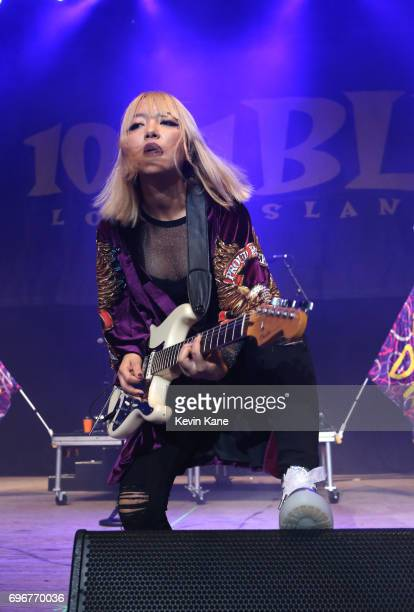 JinJoo Lee of DNCE performs on stage during the 2017 BLI Summer Jam at Nikon at Jones Beach Theater on June 16 2017 in Wantagh New York