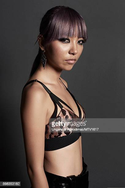 JinJoo Lee of DNCE poses for a portrait at the 2016 MTV Video Music Awards at Madison Square Garden on August 28 2016 in New York City