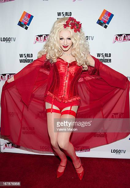 Jinkx Monsoon attends the Finale Reunion Coronation Taping Of Logo TV's RuPaul's Drag Race Season 5 on May 1 2013 in North Hollywood California