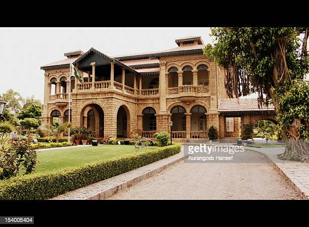 jinnah house - mohammed ali jinnah stock photos and pictures