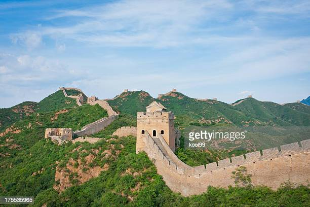 jinshangling great wall - ancient civilisation stock pictures, royalty-free photos & images