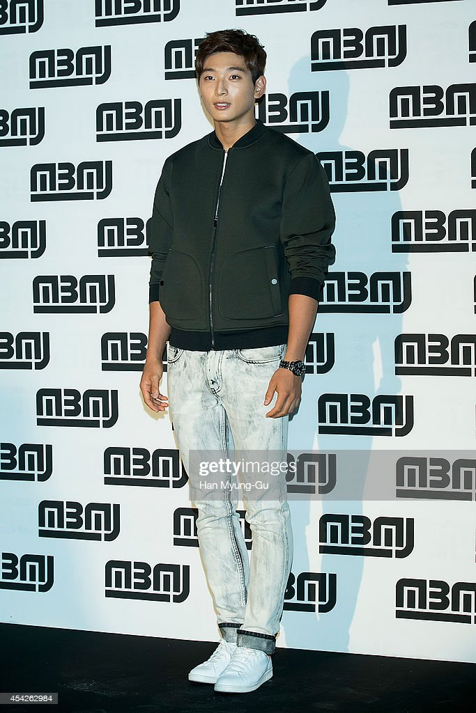 Jinwoon of South Korean boy band 2AM attends the after party for Marc By Marc Jacobs - Fall 2014 Fashion Preview on August 27, 2014 in Seoul, South Korea