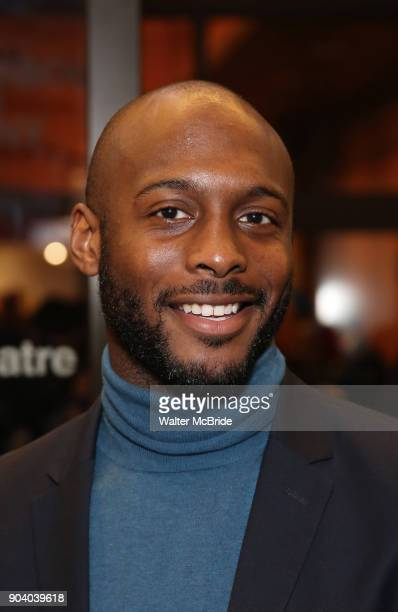 Jireh Breon Holder attends the Broadway Opening Night Performance of 'John Lithgow Stories by Heart' at the American Airlines Theatre on January 11...