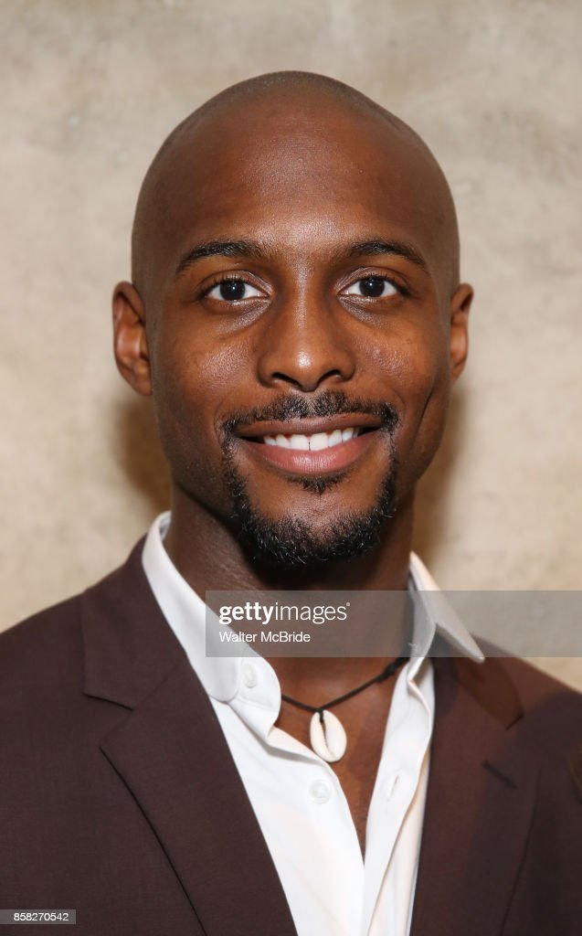 Jireh Breon Holder attends the Roundabout Theatre Company's Opening Night Party for 'Too Heavy For Your Pocket' at Burger and Lobster on October 5, 2017 in New York City.
