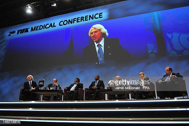 Jiri Dvorak FIFA Chief Medical OfficerArmando Barriguete Md Ministry of Health Mexico Martin Alufurai President of the Solomon Islans Football...