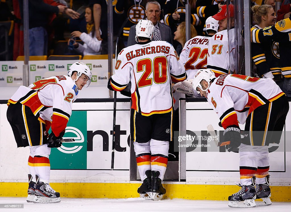 Calgary Flames v Boston Bruins