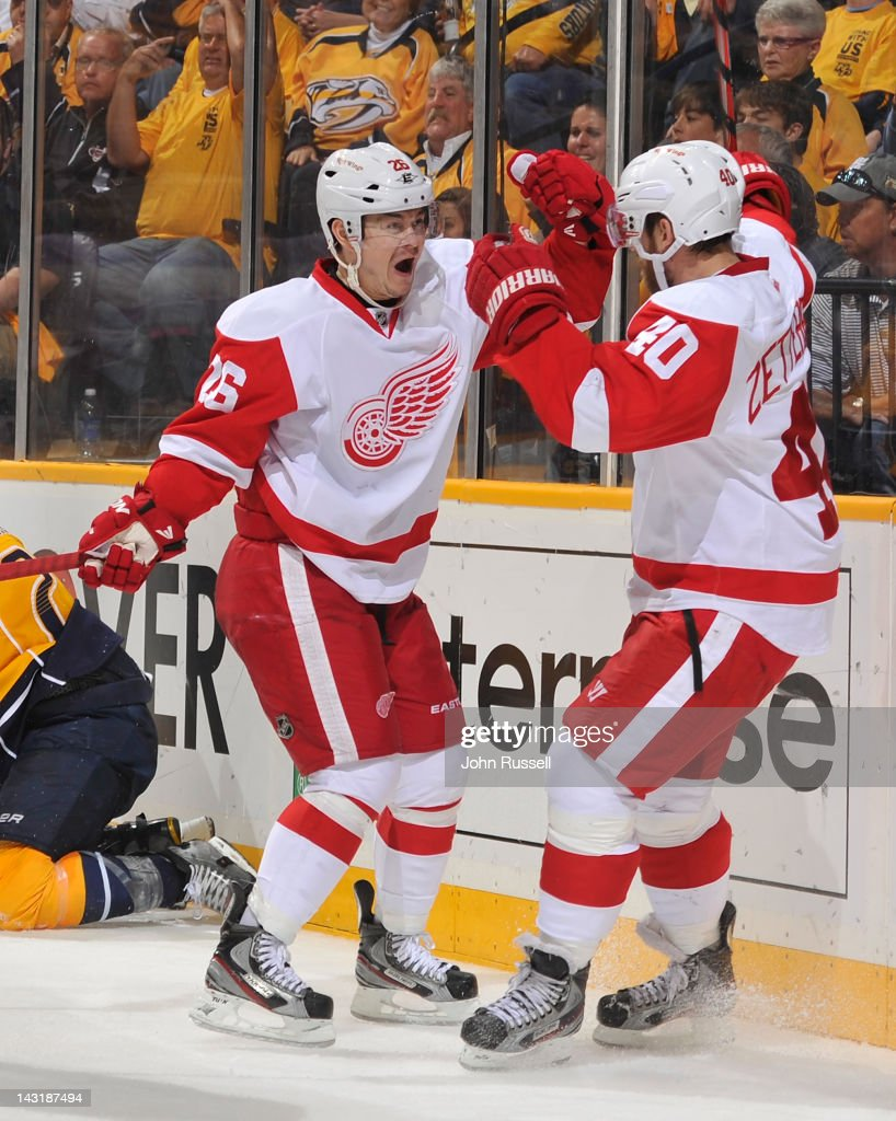 Detroit Red Wings v Nashville Predators - Game Five
