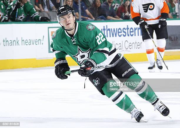 Jiri Hudler of the Dallas Stars skates against the Philadelphia Flyers at the American Airlines Center on December 17 2016 in Dallas Texas