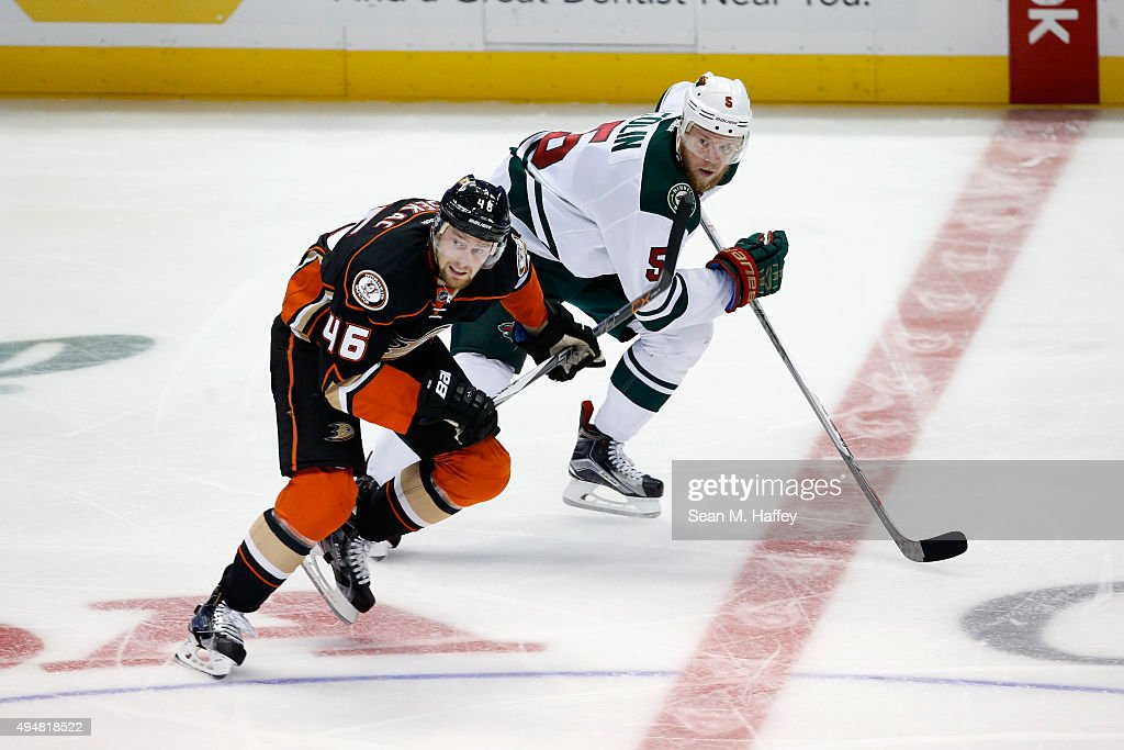 Minnesota Wild v Anaheim Ducks : News Photo