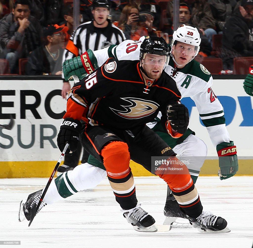 Minnesota Wild v Anaheim Ducks : News Photo