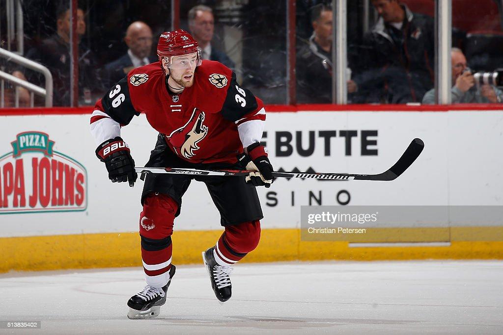 Anaheim Ducks v Arizona Coyotes : News Photo