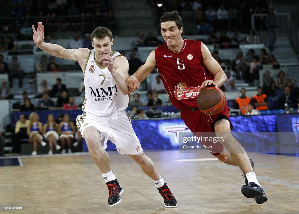Real Madrid v Belgacom Spirou Basket - Turkish Airlines Euroleague