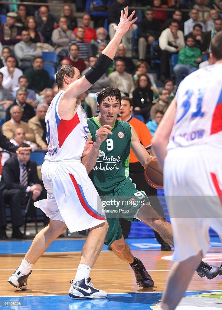 Unicaja v CSKA Moscow - EuroLeague Basketball