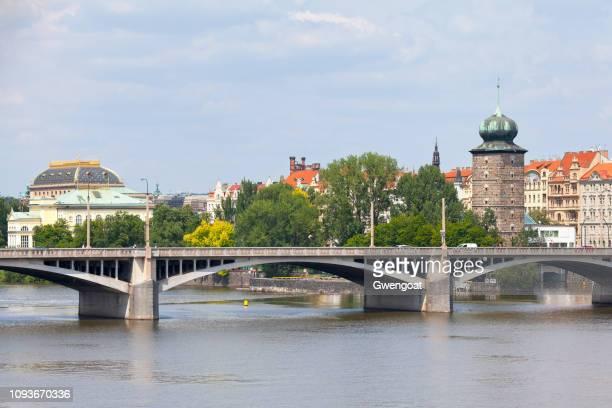 Jirásek Bridge in Prague