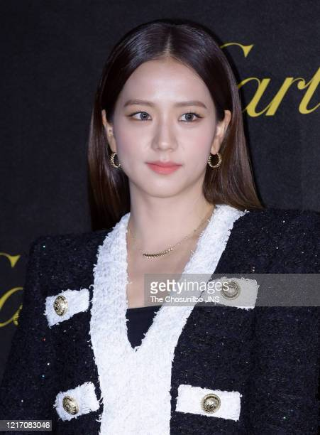 Ji-soo of BLACKPINK attends Cartier's 'Juste un Clou' party event at S-Factory on September 19, 2019 in Seoul, South Korea