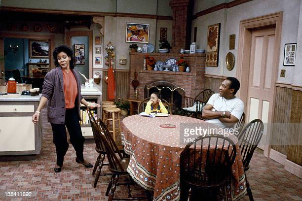 """Jitterbug Break"""" Episode 16 -- Air Date -- Pictured: Phylicia Rashad as Clair Hanks Huxtable, Keshia Knight Pulliam as Rudy Huxtable, Bill Cosby as..."""