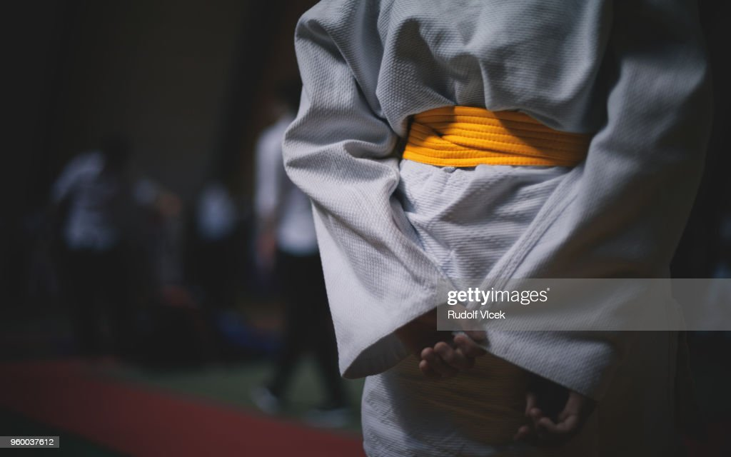 Jiu Jitsu (judo) fighter : Stock Photo