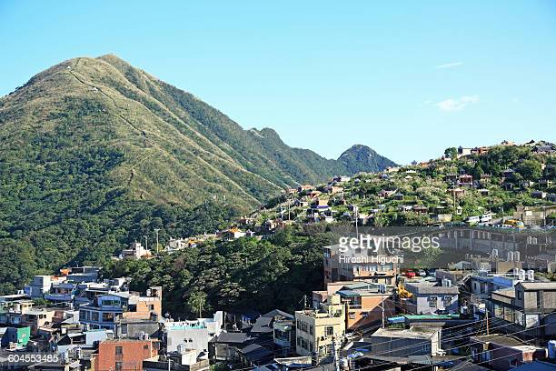 jiufen, new taipei city, taiwan - new taipei city stock pictures, royalty-free photos & images