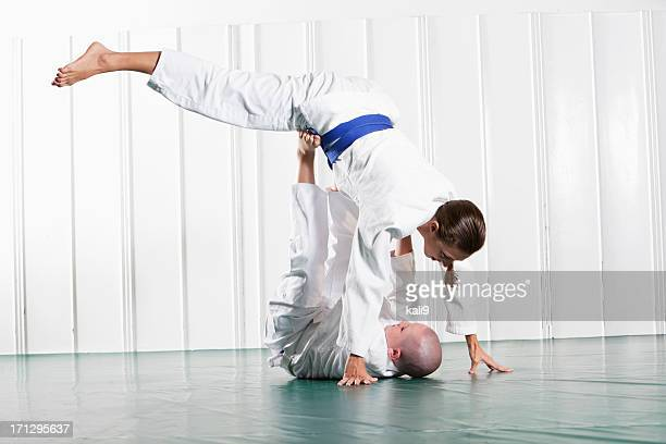 Jiu Jitsu Monkey-Flip oder Tomonogi