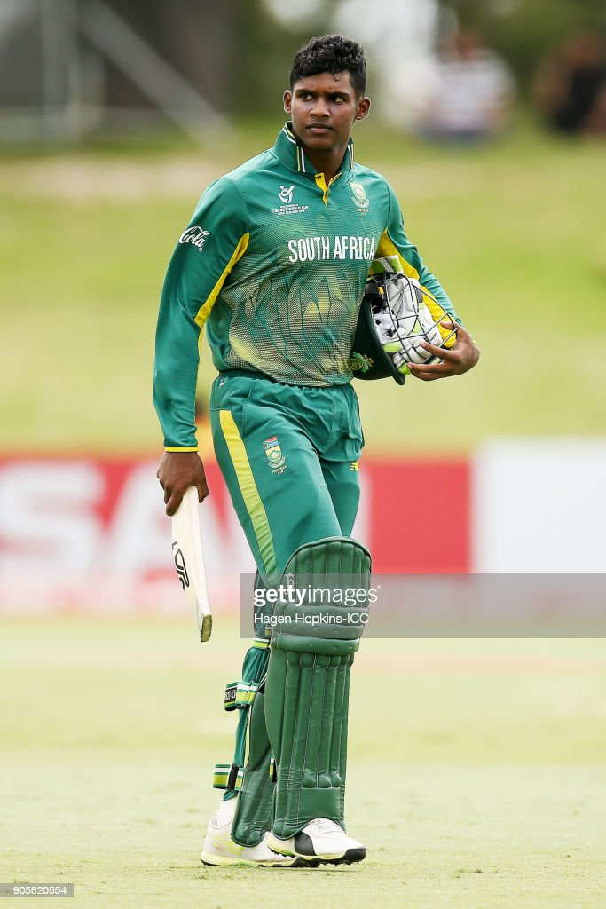ICC U19 Cricket World Cup - West Indies v South Africa