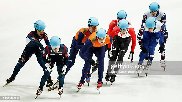 Jiwon Park of South Korea Ra Seo Yi of South Korea Mark Prinsen of the Netherlands Freek Van Der Wart of the Netherlands Charle Cournoyer of Canada...