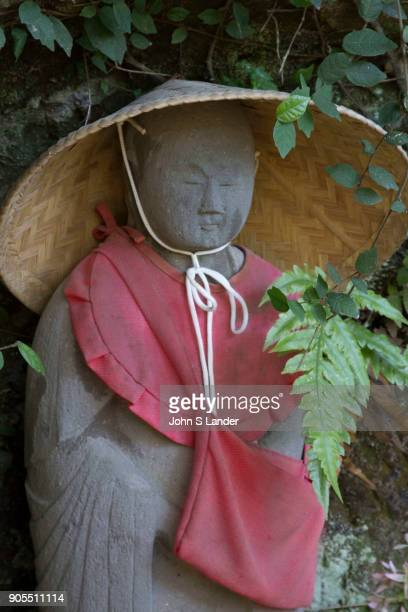 Jizo at Jimuji Temple Zushi Jizo images and statues are popular in Japan as Bodhisattva who console beings awaiting rebirth as well as comfort for...
