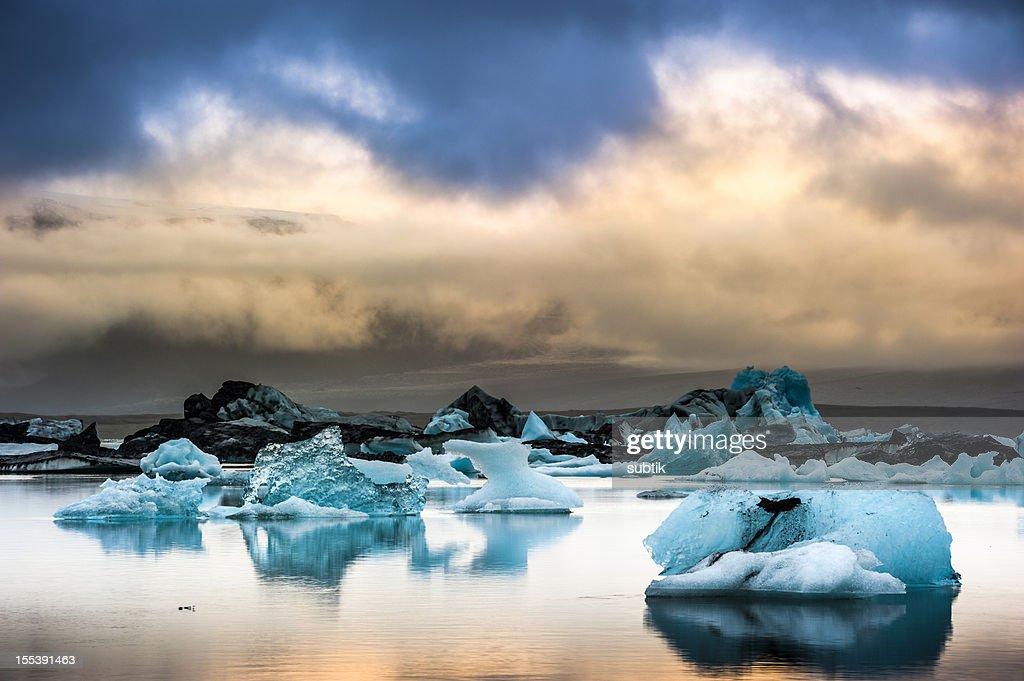 jökulsarlon, iceland : Stock Photo
