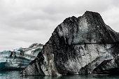 jökulsárlón is large glacial lake southeast