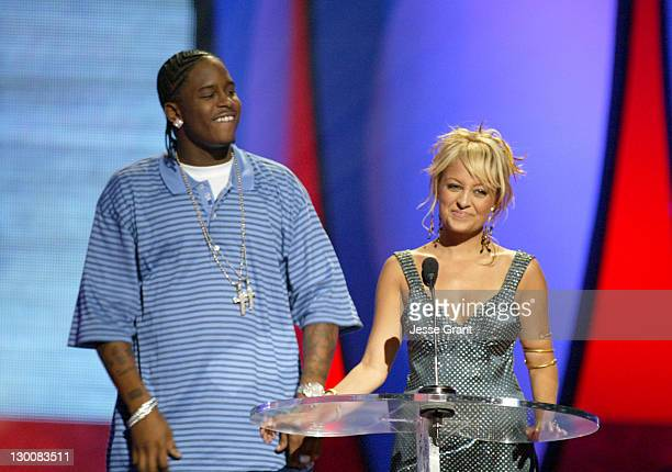 JKwon and Nicole Richie during The 2004 Teen Choice Awards Show at Universal Amphitheatre in Universal City California United States