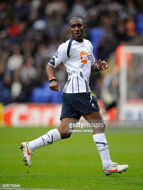 Jlloyd Samuel of Bolton Wanderers | Location Bolton England