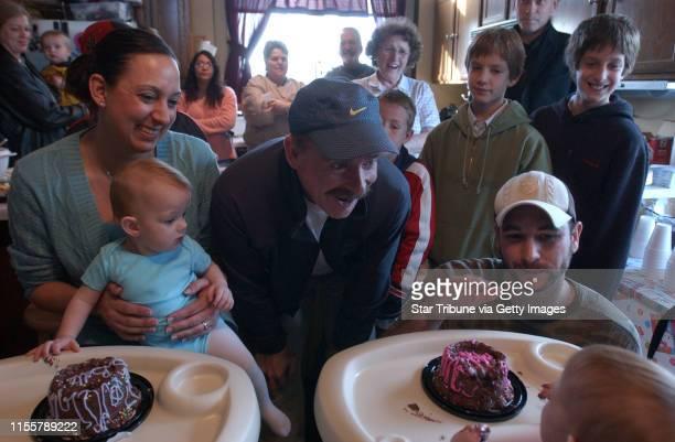 MCLEISTER ¥ jmcleister@startribunecom FargoNDSatNov 25 2006 As Amy Carlsen smiles and holds Belle on her lap Dr Christopher Moir says goodbye to...